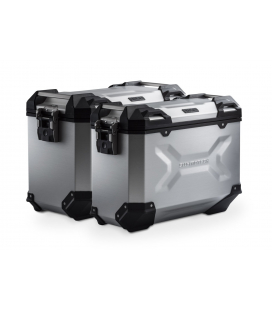 SW MOTECH Kit valises TRAX ADV Gris. 37/45 l. BMW F 800 / 700 / 650 GS (08-).