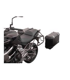 SW MOTECH Supports valises EVO Noir. Kawasaki Versys 650 (07-14).