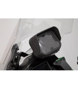 SW MOTECH Support GPS pour cockpit Noir. Kawasaki Versys 1000 (18-).