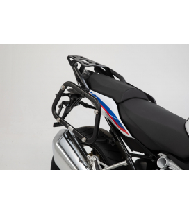 SW MOTECH Supports valises EVO Noir. BMW R 1200 R/RS (15-), R 1250 R/RS (18-).