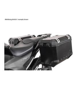 SW MOTECH Supports valises EVO Noir. Honda NC700S/X (11-14),NC750S/X (14-15).