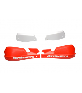 SW MOTECH Kit de protection des mains VPS Rouge. Pour barres coniques. CRF250R, CRF450R.