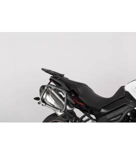 Supports valises Triumph Tiger 1050 Sport - SW MOTECH EVO Noir