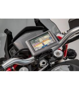 Support GPS pour cockpit Noir. Moto Guzzi V85 TT (19-).