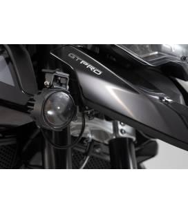 EVO kit de feux longue portée Noir. Triumph Tiger 900/GT/Rally/Pro (19-).