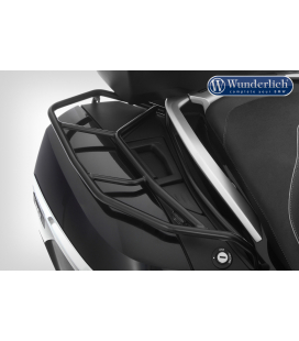 Porte-bagage valise OEM K1600GT-GTL-R1200RT LC-R1250RT / Wunderlich droit noir