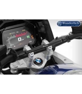 Barre de guidon BMW R1200GS LC / R1250GS - Wunderlich Noir