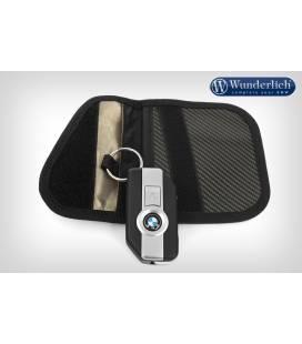 Étui porte-clefs avec RFID Blocker Wunderlich Carbon