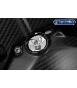 Bouchon d'huile de sécurité BMW - Wunderlich argent