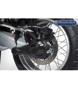 Protection cardan BMW R1200GS LC - Wunderlich carbone avec anti-éclaboussures