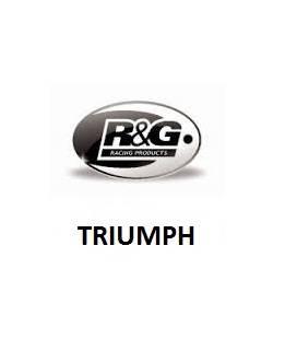 SUPPORT DE PLAQUE RG RACING TRIUMPH