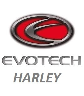 SUPPORTS DE PLAQUE EVOTECH HARLEY DAVIDSON