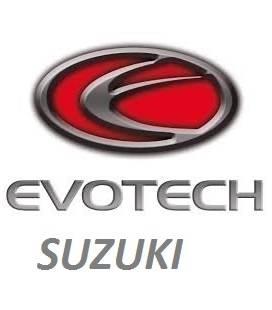 SUPPORTS DE PLAQUE EVOTECH SUZUKI