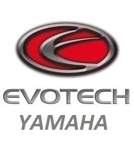 SUPPORTS DE PLAQUE EVOTECH YAMAHA