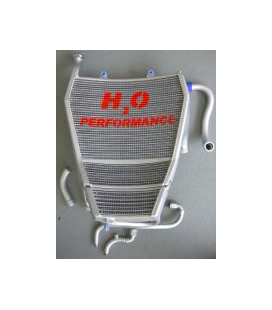 Radiateur gros volume eau + huile + kit durite BMW S1000 RR 2010-2011