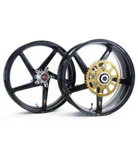 Jeu de Jantes BST Ducati 848 Black Diamond