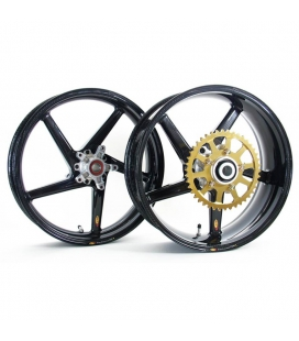 Jeu de Jantes BST Ducati Monster S2R/S4R/S4RS Black Diamond