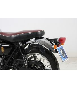 Suports sacoches Kawasaki W650 / W800 - Hepco-Becker C-Bow Noir