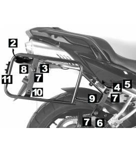 Supports de valises Hepco-Becker Yamaha FZ6 Sport-classic