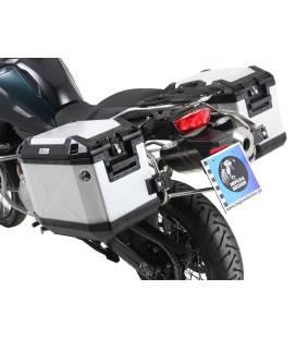 Kit valises BMW F750GS - Hepco-Becker Cutout Xplorer Alu