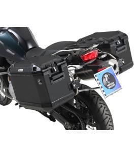 Kit valises BMW F750GS - Hepco-Becker Cutout Xplorer Noir