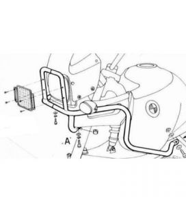 Protection de phare BMW R850GS / R1100GS - Hepco-Becker
