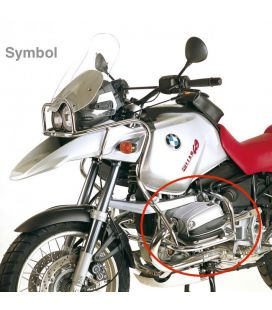 Pare cylindre BMW R1150GS 2000-2004 / Hepco-Becker Silver