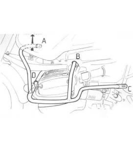 Pare cylindre BMW R1150GS Adventure - Hepco-Becker Black