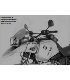 Protection réservoir BMW R1150GS Adventure - Hepco-Becker Black