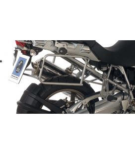 Supports valises BMW R1200GS 2004-2007 / Hepco-Becker Lock-It Silver