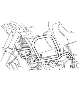 Protection moteur Cagiva Elefant 750 i.e. / 950 i.e. 1994-1996