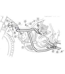 Protection moteur Cagiva Gran Canyon 900 1998-1999