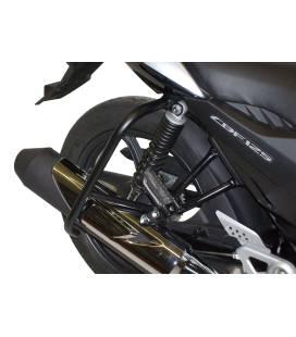 Protection arrière Honda CBF125 2009-2014 / Hepco-Becker