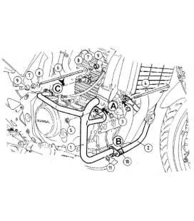 Protection moteur Honda CBF500 - Hepco-Becker 501937 00 01