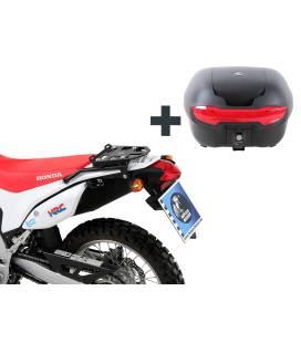 Kit top-case Honda CRF250L - Hepco-Becker Noir 40L