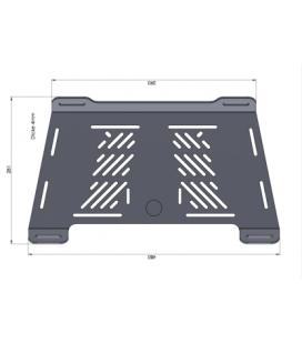 Extension porte bagage Scrambler 1100 2021- / Hepco-Becker 8007616 00 01