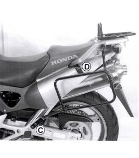 Supports valises Honda XL1000V Varadero 03-06 / Hepco 650934 00 01