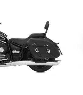 Kit adaptateur pour support dorsal avec les sacoches de selle original - acier inoxydable - Wunderlich
