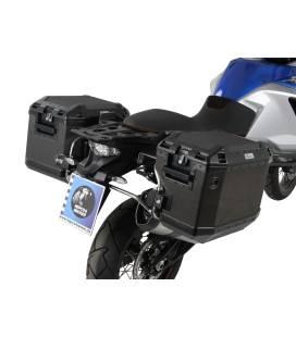 Kit supports + valises 1050/1190 Adventure - Hepco-Becker Noir