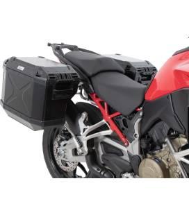 Kit valises Ducati Multistrada V4 - Hepco-Becker Xplorer Black