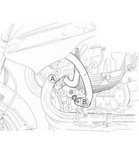 Protection moteur Moto Guzzi 1200 Sport (2007-2008) - Hepco