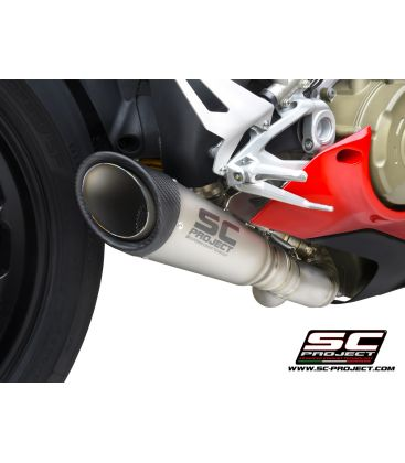 Silencieux Ducati Panigale V4 2021 / SC Project D26C-LT41T
