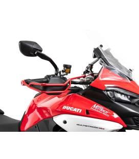 Renforts protèges-mains Ducati Multistrada V4 - Hepco-Becker Red