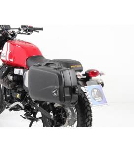 Supports valises Moto Guzzi V 7 II Scrambler/Stornello (2016) / Hepco-Becker Chromé
