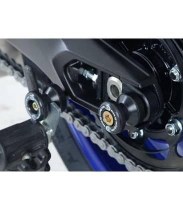Roulettes de Protection Bras Oscillant Suzuki SV 650 Diabolos carbon