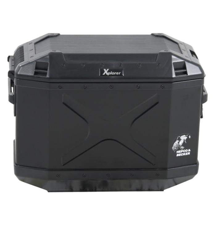 valise hepco becker xplorer noir 40 litres. Black Bedroom Furniture Sets. Home Design Ideas