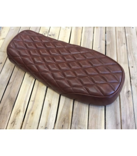 SELLE DIAMOND STITCH BRAT BROWN 65 L : 51cms