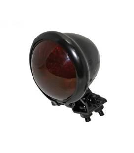FEU ARRIERE A LED SHIN YO BLACK LENTILLE ROUGE