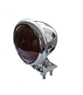 FEU ARRIERE A LED SHIN YO CHROME LENTILLE ROUGE