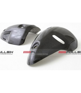 PROTECTIONS SILENCIEUX CARBONE FULLSIX DUCATI MONSTER